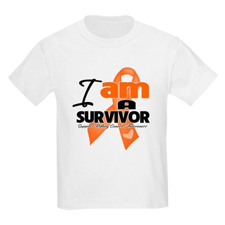 Survivor Kidney Cancer Kids Light T-Shirt