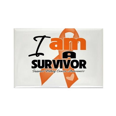 Survivor Kidney Cancer Rectangle Magnet