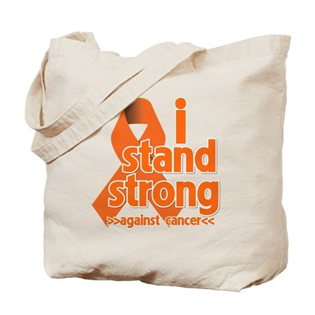 Stand Strong Kidney Cancer Tote Bag