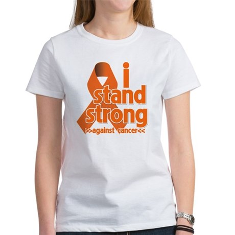Stand Strong Kidney Cancer Women's T-Shirt