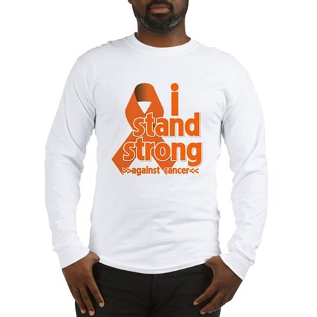 Stand Strong Kidney Cancer Long Sleeve T-Shirt