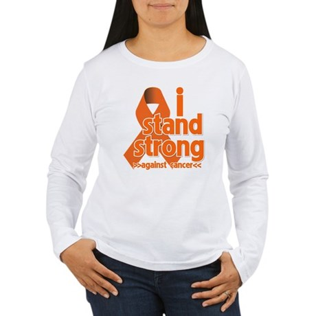 Stand Strong Kidney Cancer Women's Long Sleeve T-S