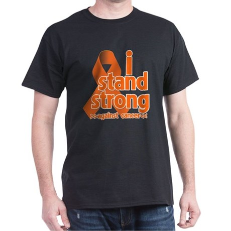 Stand Strong Kidney Cancer Dark T-Shirt