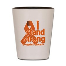 Stand Strong Kidney Cancer Shot Glass