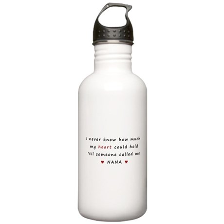 My heart holds Love Stainless Water Bottle 1.0L