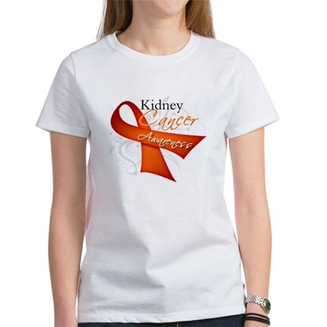Kidney Cancer Awareness Women's T-Shirt