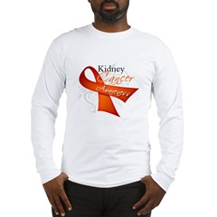 Kidney Cancer Awareness Long Sleeve T-Shirt