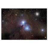 NGC 6726 Galactic Dust Cloud in Corona Australis