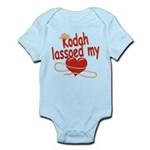 Kodah Lassoed My Heart Infant Bodysuit