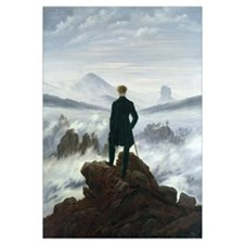 The Wanderer above the Sea of Fog, 1818 (oil on ca