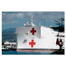 The Military Sealift Command hospital ship USNS Me
