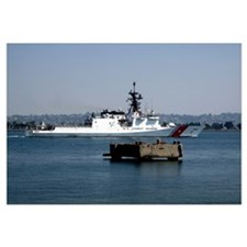 USCGC Bertholf underway in San Diego Bay Californi