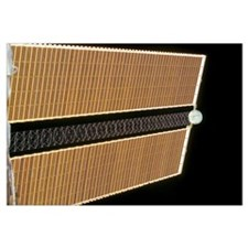 Starboard solar array wing panel