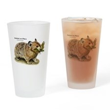 American Pika Drinking Glass