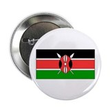 "Kenya Kenyan Blank Flag 2.25"" Button (100 pack)"