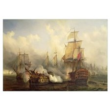The Redoutable at Trafalgar, 21st October 1805 (oi