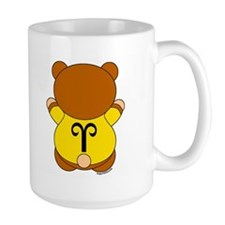 Aries Cartoon Bear Mug
