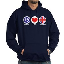 Peace Love London Hoodie