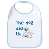 Dog did it Bib