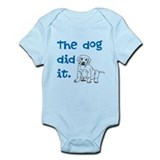 Dog did it Infant Bodysuit