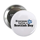 Everyone Loves a Scottish Boy Button