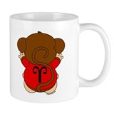 Aries Cartoon Monkey Mug