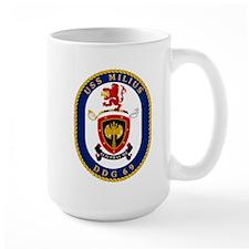 USS Milius DDG 69 Mug
