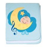 Music Notes Baby baby blanket