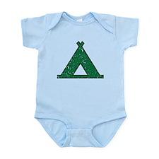 Vintage Camping Style Infant Bodysuit