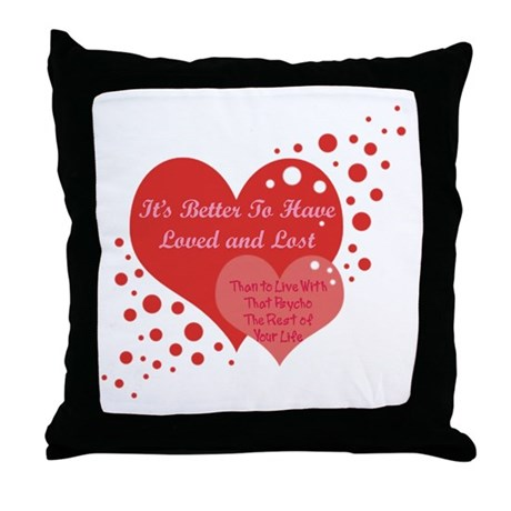Love and Lost Throw Pillow