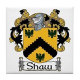 Shaw Coat of Arms Ceramic Tile