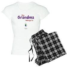 This Grandma Belongs 1 One Pajamas