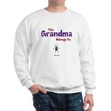 This Grandma Belongs 1 One Sweatshirt