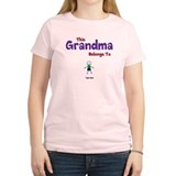 This Grandma Belongs 1 One T-Shirt