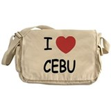 I heart cebu Messenger Bag