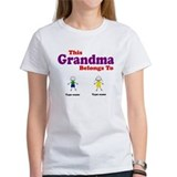 This Grandma Belongs 2 Two Tee