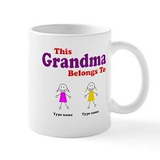 This Grandma Belongs 2 Two Mug