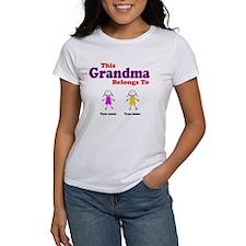 This Grandma Belongs 2 Two Tee