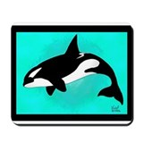 Killer Whale Mousepad