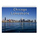 Chicago Lakeshore Wall Calendar