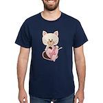 Sweetheart Cat Dark T-Shirt