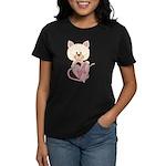 Sweetheart Cat Women's Dark T-Shirt
