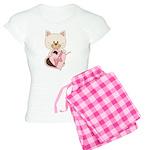 Sweetheart Cat Women's Light Pajamas