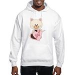 Sweetheart Cat Hooded Sweatshirt
