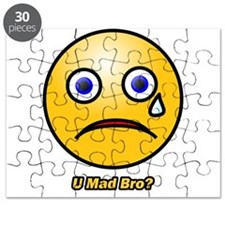 U Mad Bro Smiley Puzzle