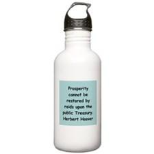 herbert hoover Water Bottle