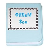 Oilfield Son baby blanket