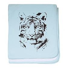 Tiger's Glare baby blanket