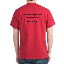 72 Virgins Courtesy of (personalized) T-Shirt