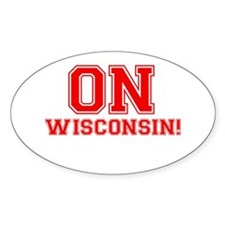 On Wisconsin Decal